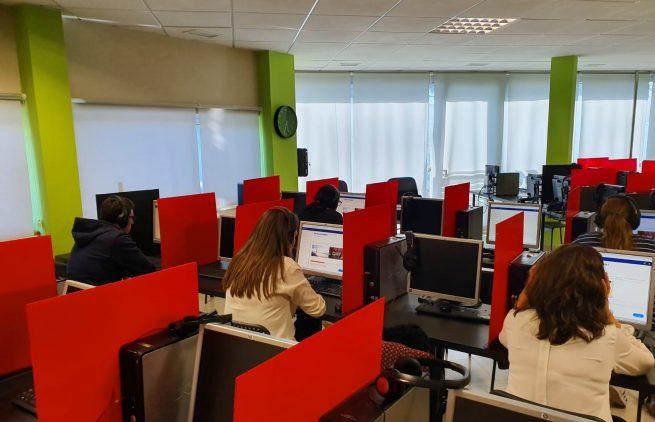 Sala de examen Jerez 1