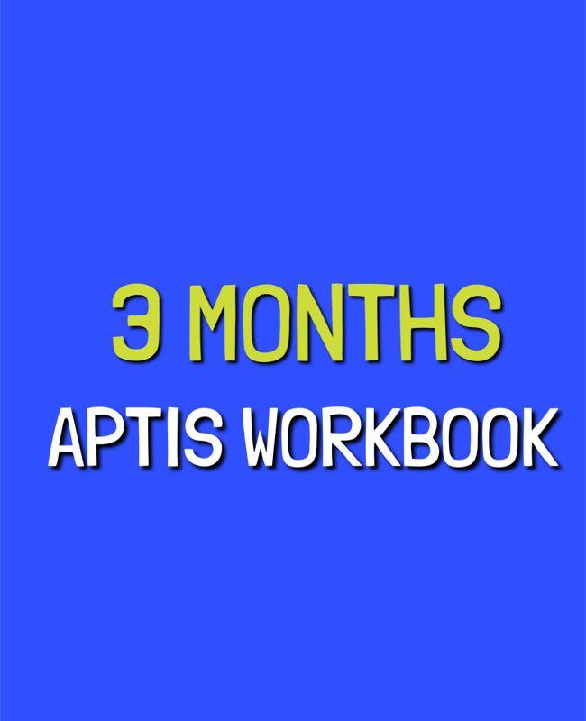 Protegido: APTIS WORKBOOK  –  3 MONTHS
